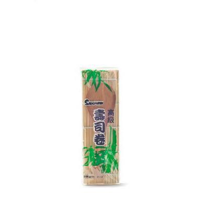Rullemåtte i Bambus med træske