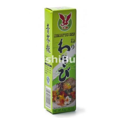 Wasabi Pasta på tube - 43 gram - JH Foods